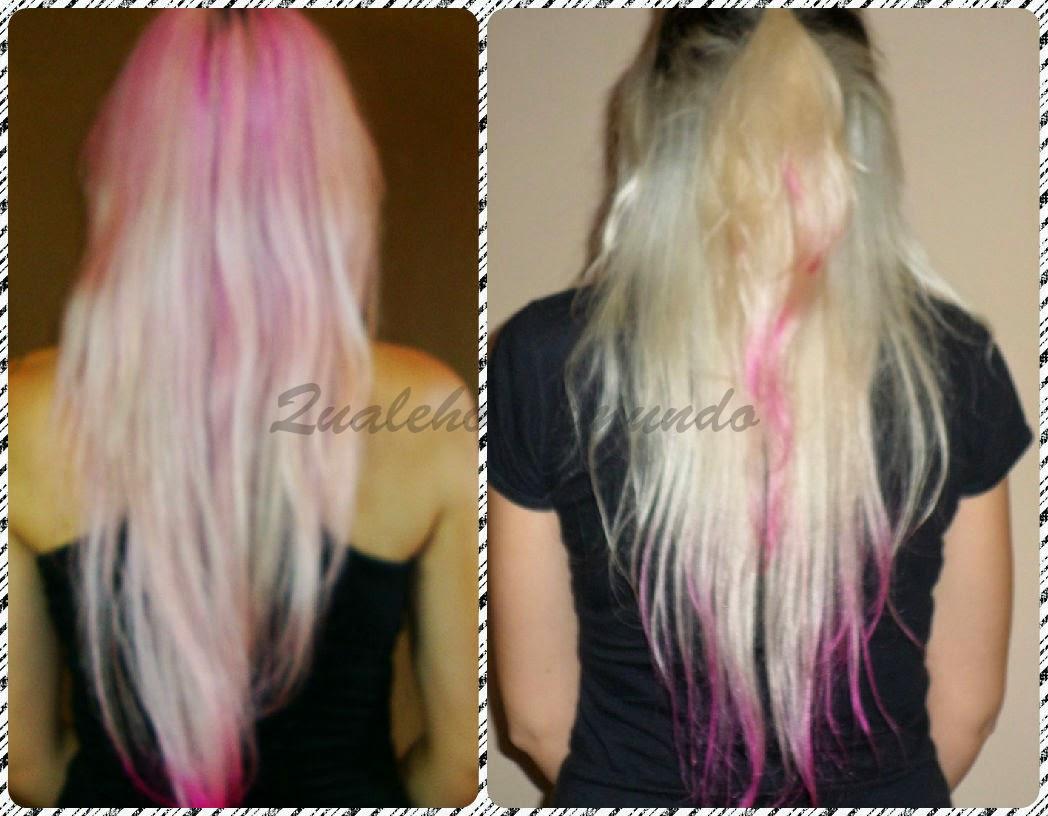 cabelo rosa clarinho
