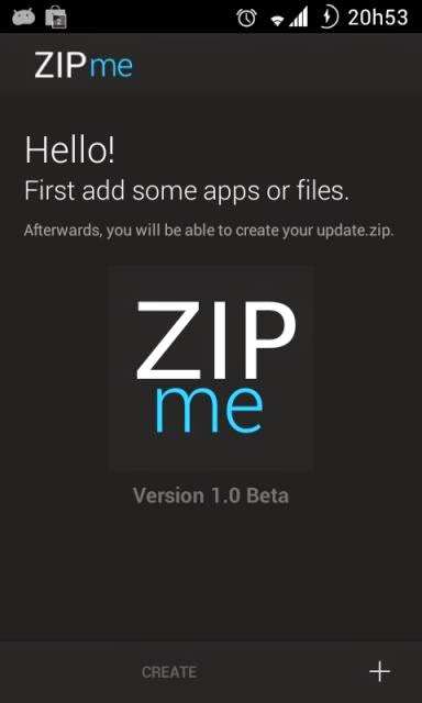 Cara Membuat Flashable ZIP Memakai Aplikasi ZIPme!