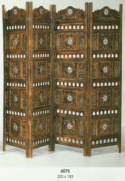 La web de la decoracion y el mueble en la red biombo en - Biombos de madera ...