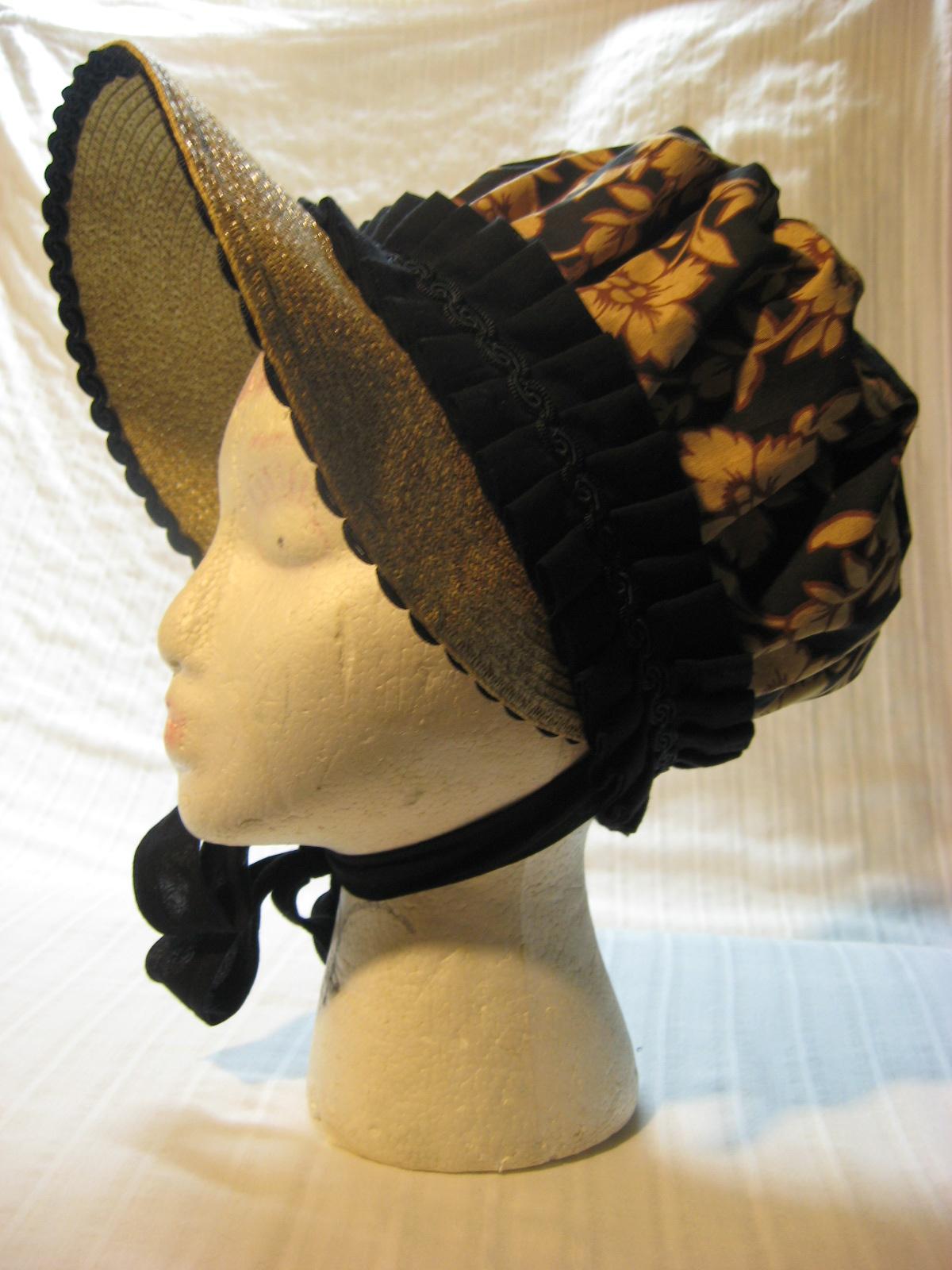 [XIX Régence] Bonnet et autres couvre-chefs Hat+107