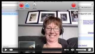 Skype Interview with Ms. Cassidy
