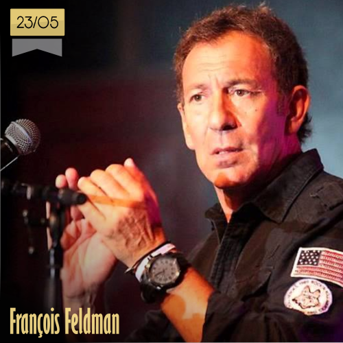 23 de mayo | François Feldman - @MusicaHoyTop | Info + vídeos