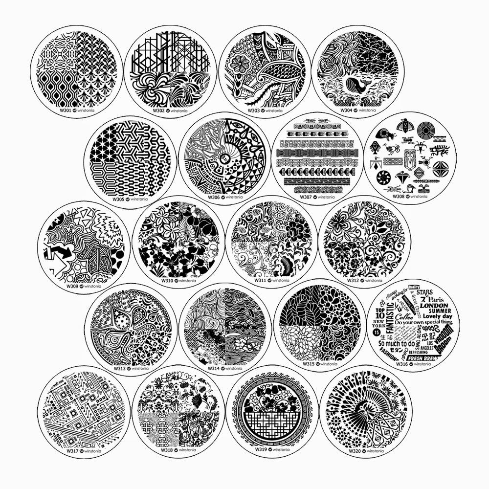 Lacquer Lockdowm - nail art art stamping,ping blog, nail art stamping, winstonia store, winstonia store plates, 3rd generation plates, new nail art stamping plates 2015