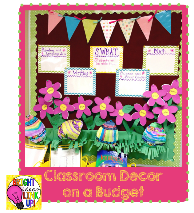 Bright ideas classroom decor on a budget teaching ever for Art classroom decoration ideas