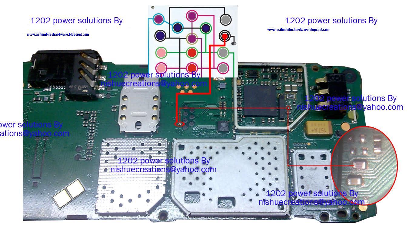 Nokia 1202,1203,1661 Power Key Solution Ways 100% Ok