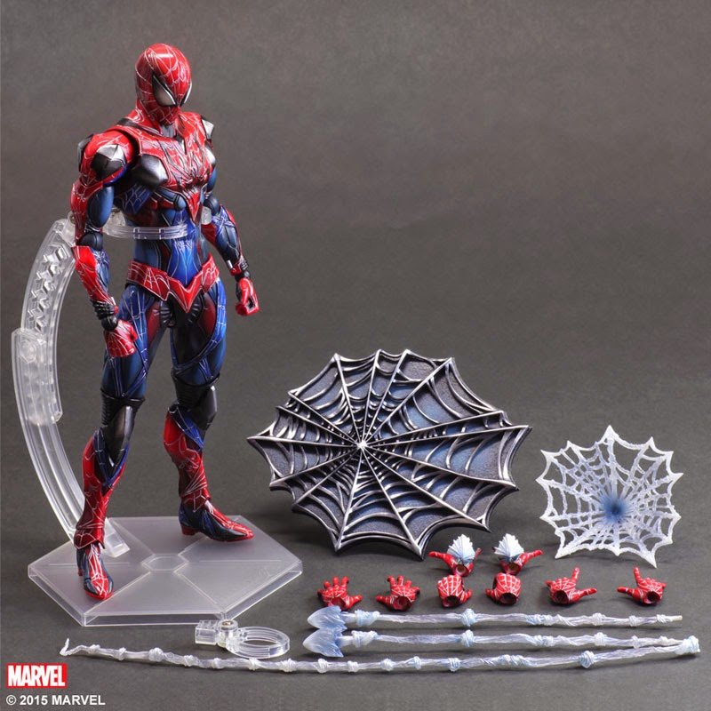 spider man avengers action figure