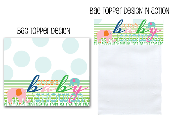 http://www.partyboxdesign.com/item_1626/Elephant-Baby-Girl-Shower-Bag-Topper.htm