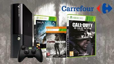 Consigue una Xbox 360 de 250Gb y varios juegos entre ellos el nuevo Call of Duty Ghosts