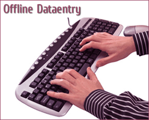 Offline Data Entry