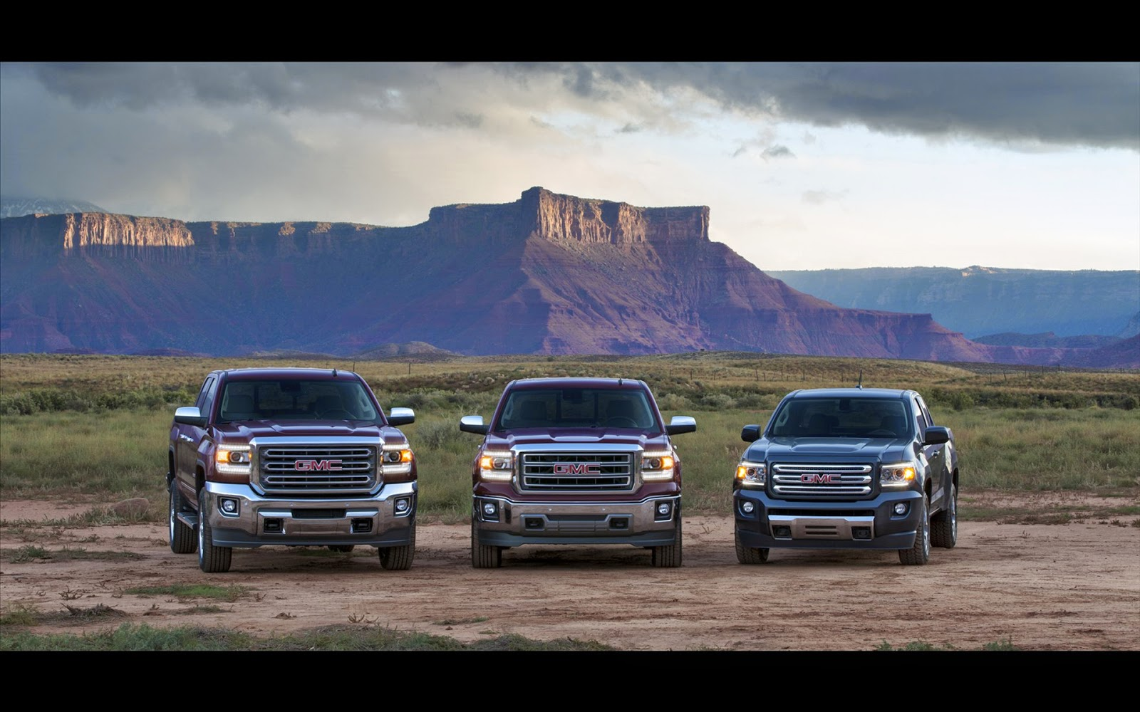 2015 GMC Canyon, 2014 GMC Sierra, 2015 GMC 3500HD, Trucks