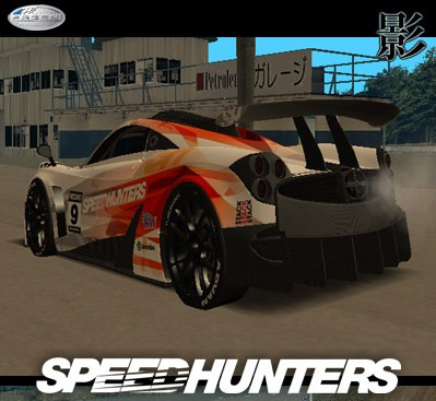 WELCOME TO HANTERSHELL FILES: GTA: San Andreas Addon - Pagani Huayra SpeedHunter Edition