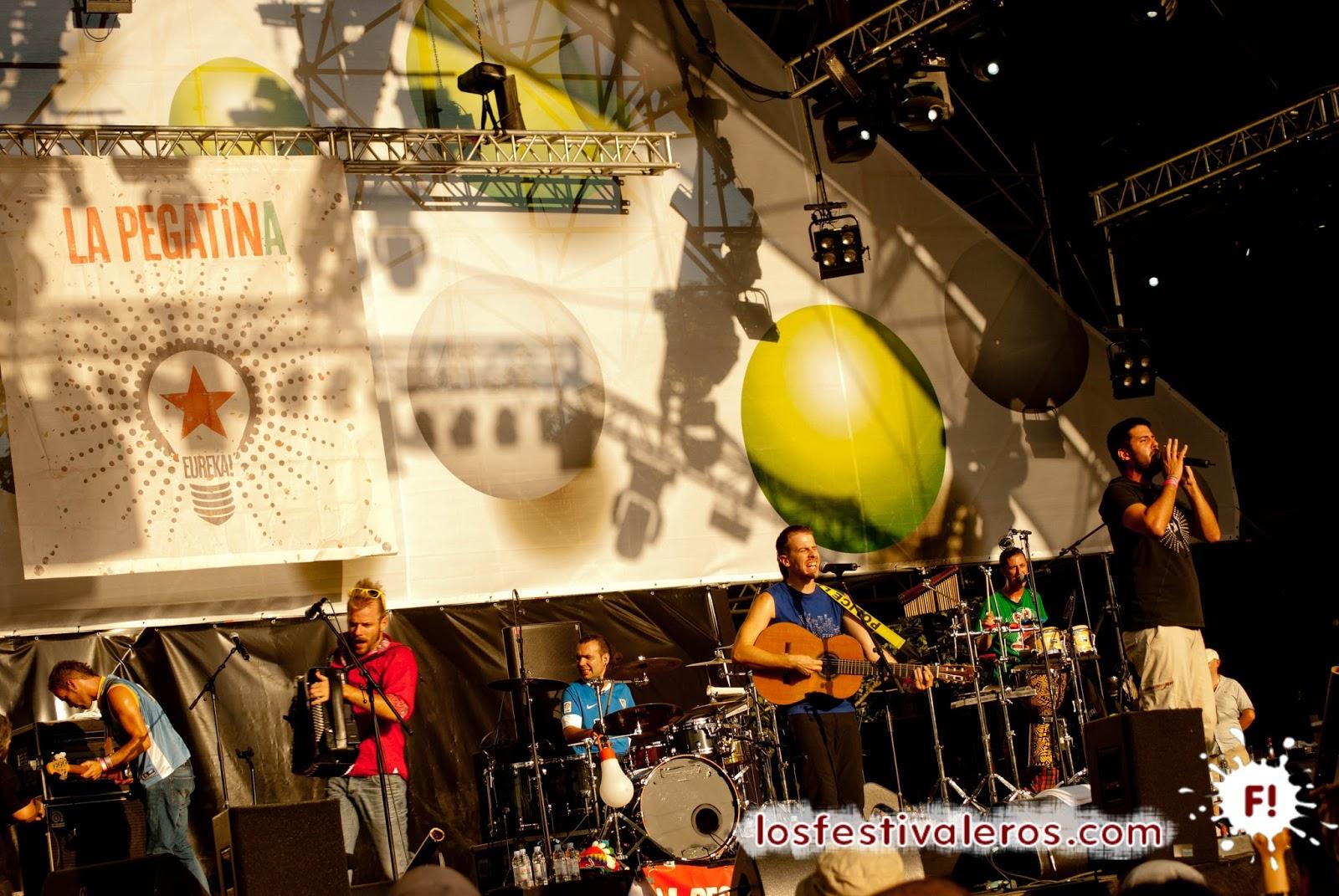 La Pegatina, Planet Babylon, 2014, Festival