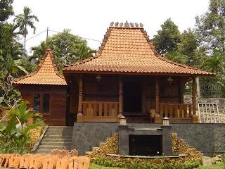rumah adat jawa tengah jateng rumah tradisional jateng Rumah joglo jawa tengah 300x225 Gambar Rumah Adat Indonesia