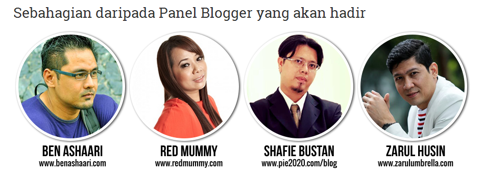 panel sepetang bersama blogger