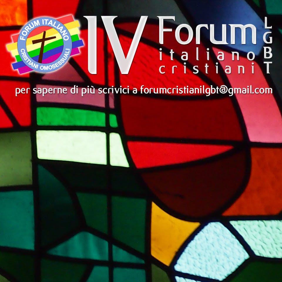 IV Forum dei Cristiani LGBT 2016