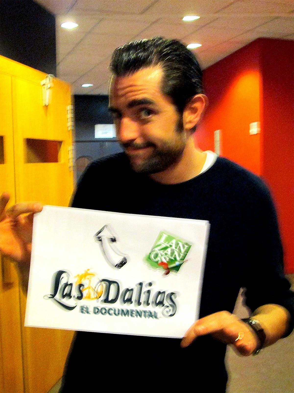 Dani Matero, Intermedio, La sexta, documental, los40, no te pierdas nada, presentador, televisión, famoso, guapo, crowdfunding, lanzanos, documentary
