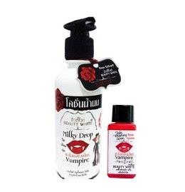 handbody vampire, Herbal Kecantikan, Herbal Perawatan Tubuh, manfaat paket vampire, Paket Vampire Whitening (Serum + Lotion Original)