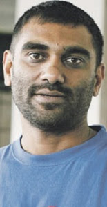 Kumi Naidoo - after 2009 hunger-strike.