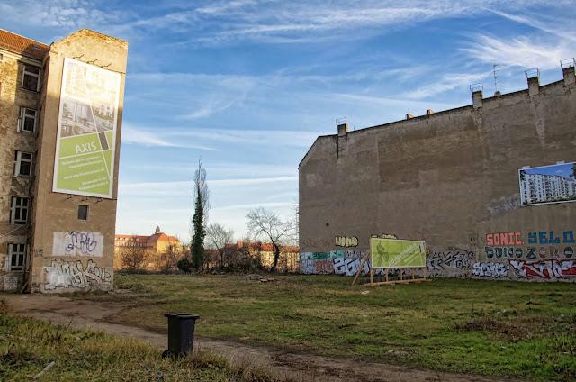 Baustelle AXIS, Eigentumswohnungen, Pettenkoferstraße / Bänschstraße, 10247 Berlin, 07.01.2014