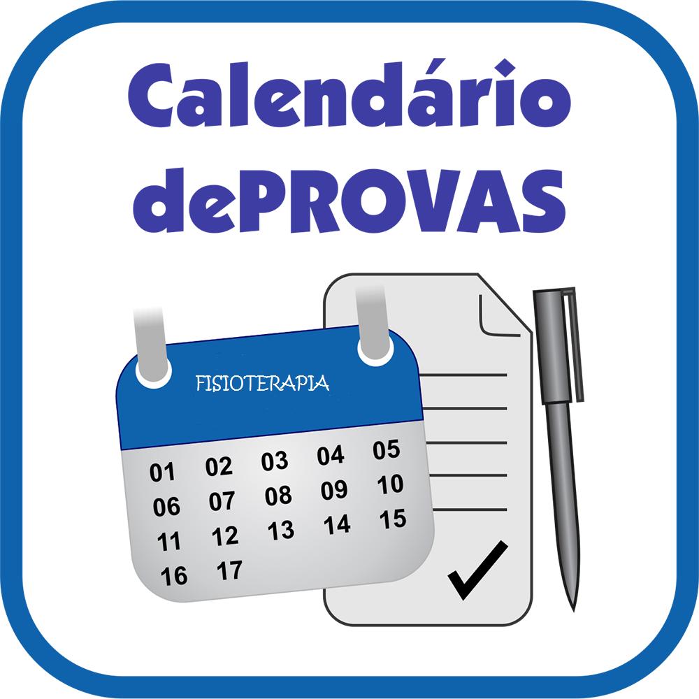 Calendário de Provas 2015/2