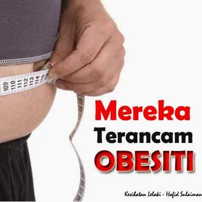 Terancam obesiti