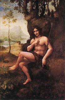 Baco, por Leonardo da Vinci