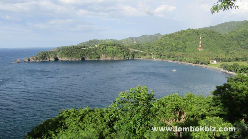 Gambar pemandangan pantai malimbu