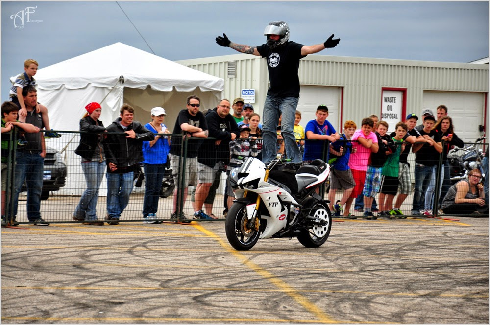 Hub City Stunters at Wharf Rat Rally 2014
