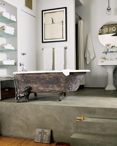 D cor de provence belgian french and swedish flair for Bathroom elle decor