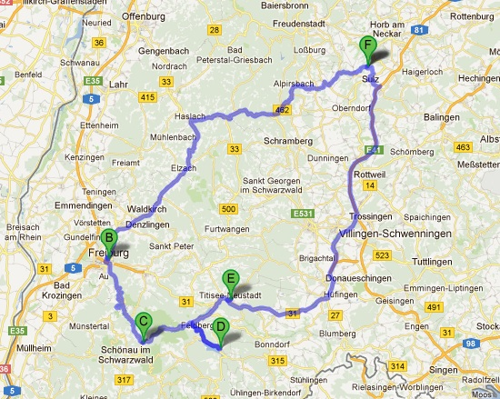 Family Wanderlust Day Black Forest Germany - Germany map black forest