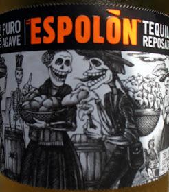 Label of Espolon Reposado Tequila
