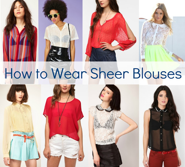 How To Wear A Sheer White Blouse 70