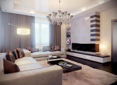 Cool Modern Living Room Design Ideas 2012