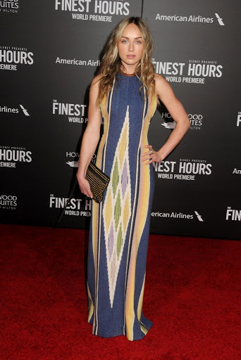 Zella Day The Finest Hours Premiere red carpet dresses photo