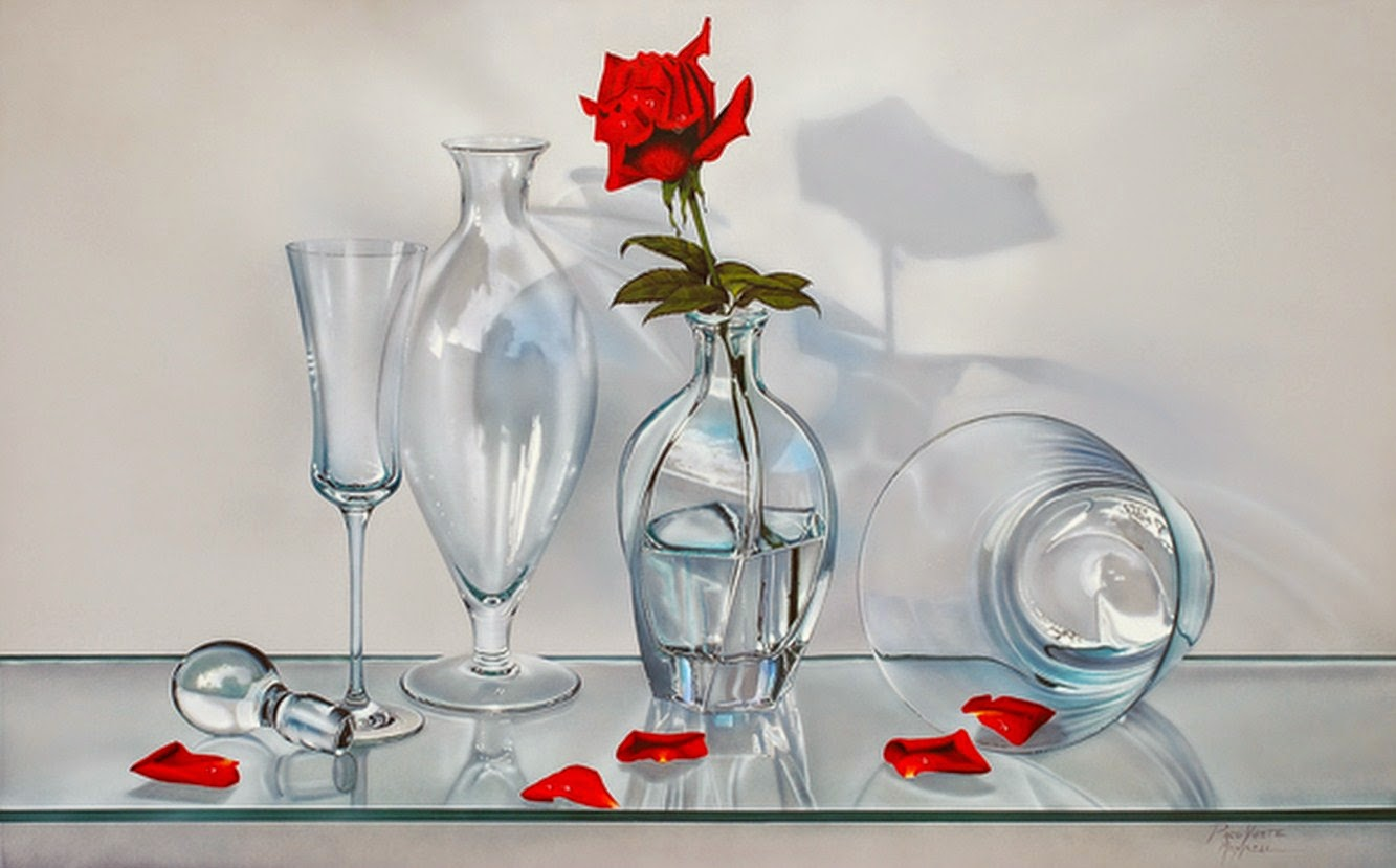 pinturas-bodegones-flores-rojas
