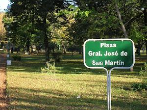 """Plaza """"San Martín"""""""
