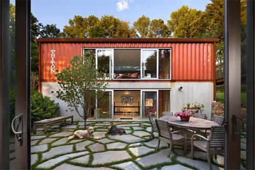 Casas modernas de contenedores casa vieja dama decorando for Casas de container modernas