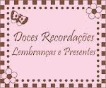 Doces Recordações - Lembrancinhas e Presentes: