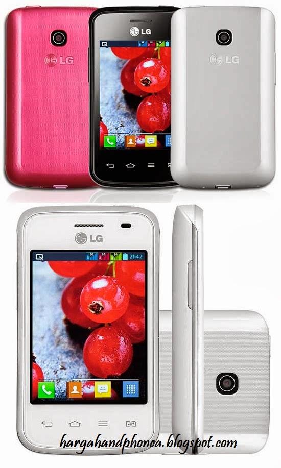 Harga LG Optimus L1 II Tri dan Spesifikasi Lengkap
