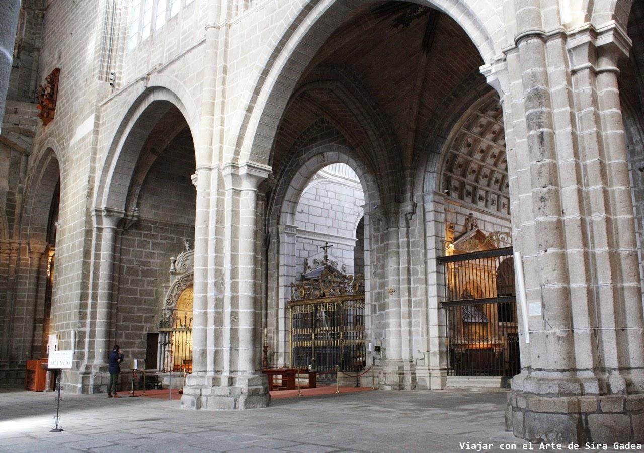 Capillas catedral Ávila