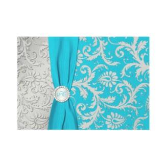 the hartanto 39 s family wedding theme aqua blue tiffany
