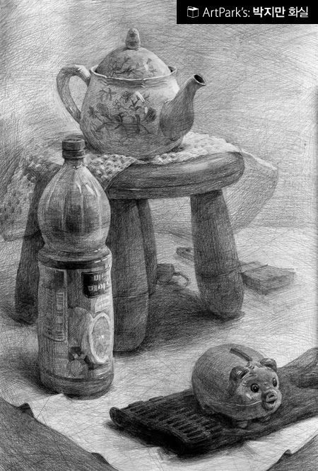 Scribble Drawing Still Life : Still life drawing with pencil korea how to draw library