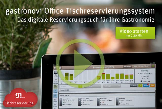 gastronovi Office Tischreservierungssystem