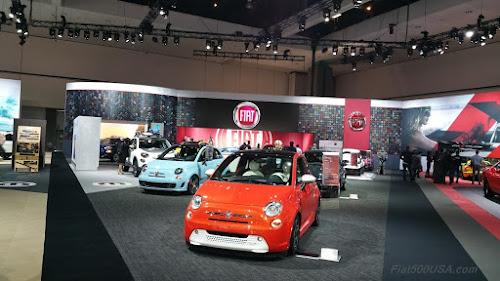 Fiat at the 2015 LA Auto Show