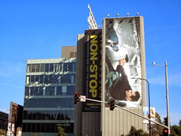 Non-Stop movie billboard