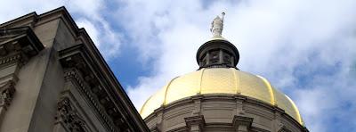 Georgia State Capitol Building, Gold Dome