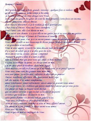 Des belles lettre d'amour pour elle