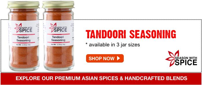 shop tandoori seasoning available at season with spice shop
