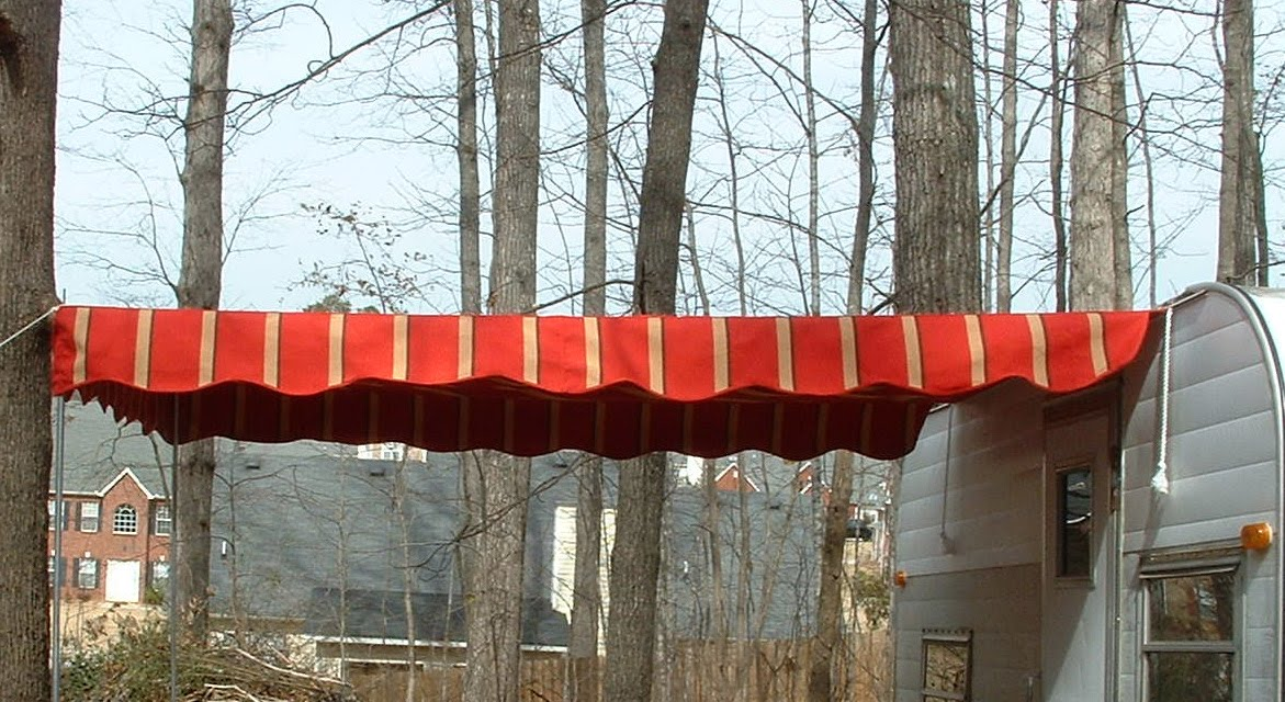 Vintage Trailer Awning How Far Should The Trailer Awning