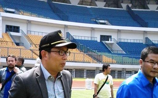 Wali Kota Bandung Tinjau Stadion GBLA